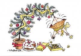Private Eye Christmas card, 2004