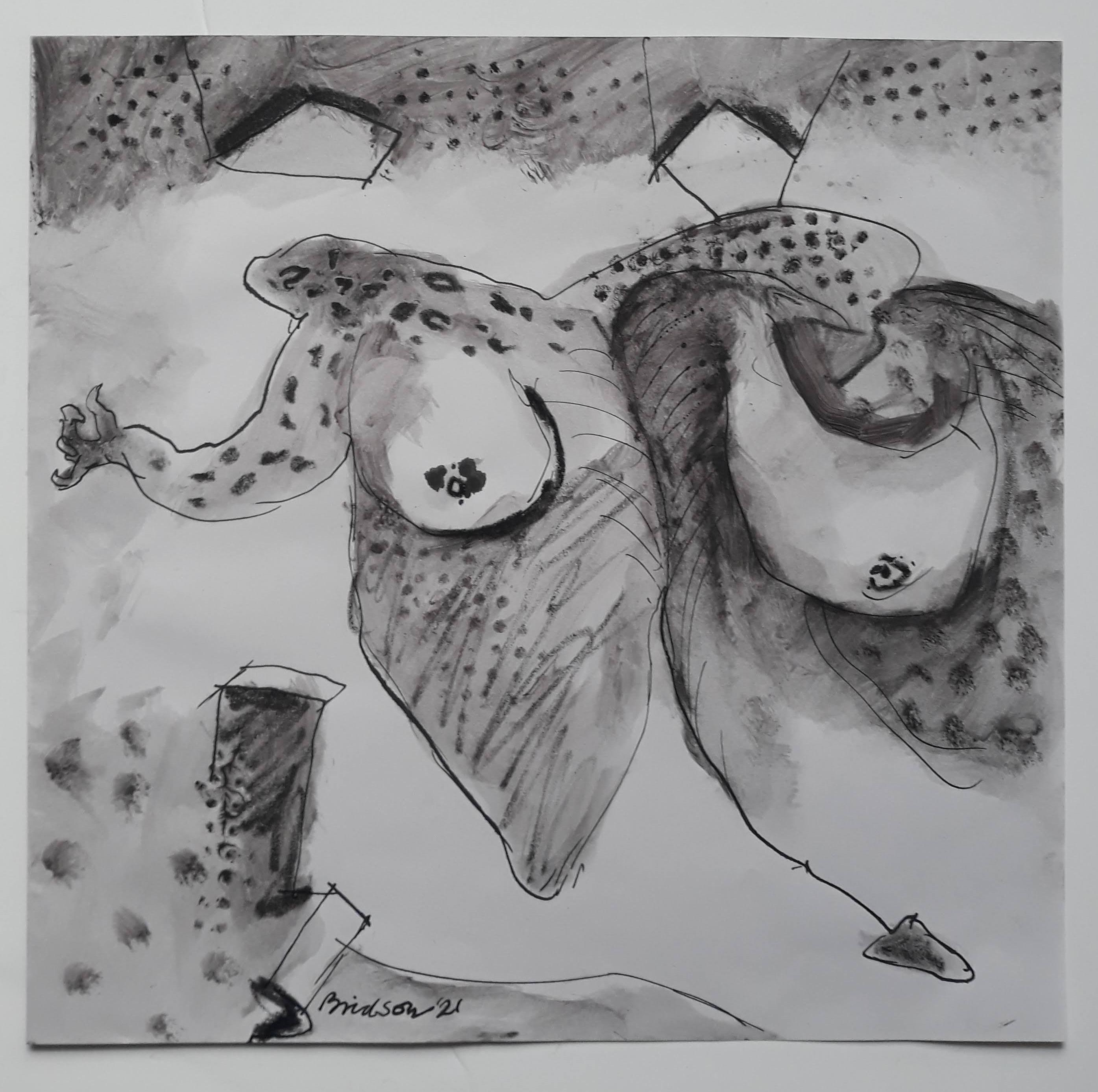'Floating',  2021, 30 cm x 41 cm