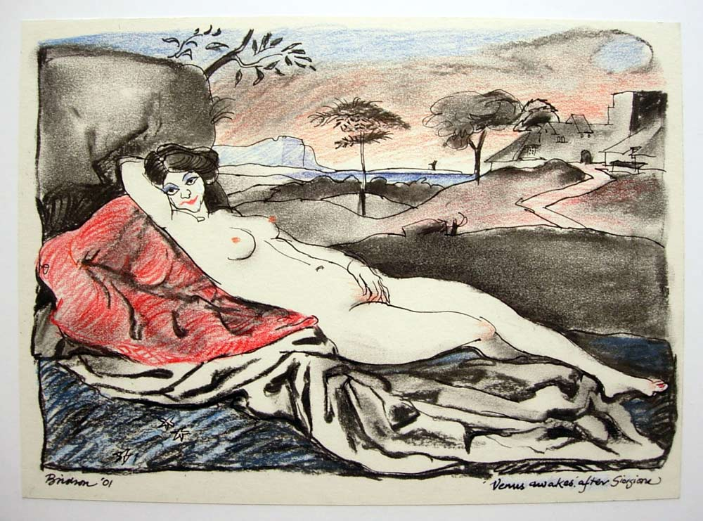 'Giorgione Venus'