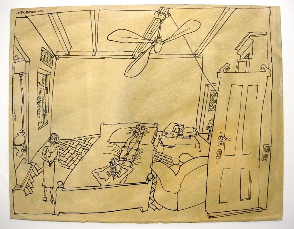 'Our room in Calcutta'