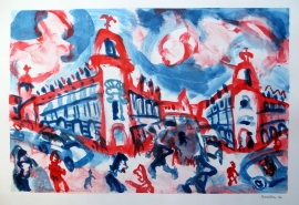Red and Blu Lille - Nick Bridson Baker