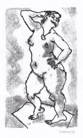 'Smiling woman'