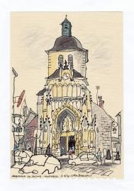 'Abbatiale St. Saulve Montreuil N. France' 2014