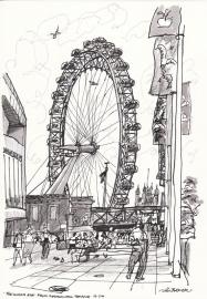 'The London Eye' 2000