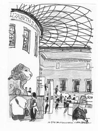 'British Museum Courtyard' 2003