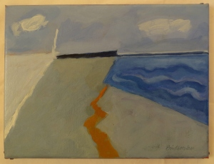 'Landscape with sea'