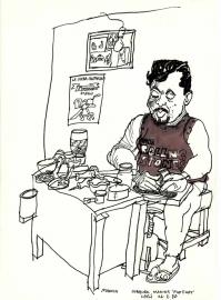 Cobbler Leon Nicaragua 1988