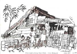 House near Leon Nicaragua 1988