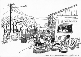 Vulcanising Leon Nicaragua 1988